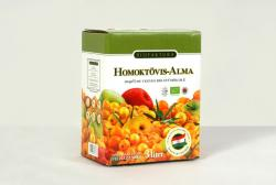 Homoktövis-alma